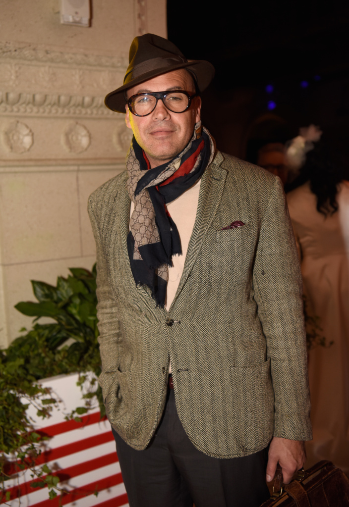 Billy Zane at LAFW by Art Hearts Fashion