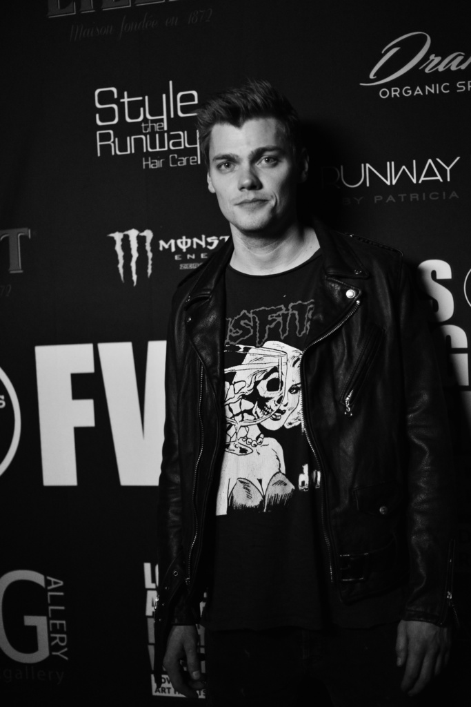 Levi Meaden at LAFW FW19 powered by Art Hearts Fashion